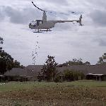 Helicopter Ball Drop - The Crowd Went Wild!