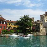 Entrance to Sirmione old town