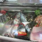 pescado fresquisímo del día.