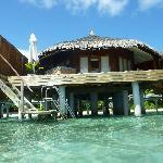 La villa desde el agua