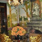 Salón con frescos