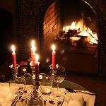 Notre dernier diner près du feu