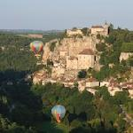 Rocamadour, non loin des Hirondelles