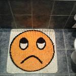 Sad bath mat is sad :)