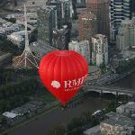Ballooning over Melbourne is spectacular