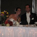 Happy wedding couple at Holiday Inn French Quarter