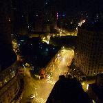 ホテルの部屋から中山公園(夜景)