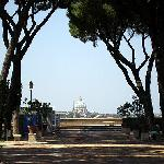 A viewof Rome from the hill