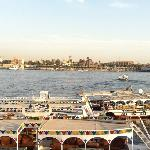 About to cross to the East bank from the West Bank of the Nile!