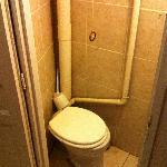 les toilettes deplorable