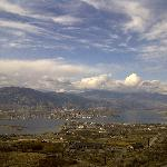 View over Osoyoos -15km from estate