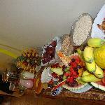 desayuno buffet  delicioso y abundante