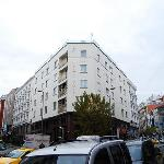 view from street