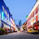 Ann Siang Road in the evening