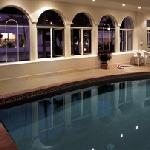 Enjoy a swim in our heated indoor pool in winter