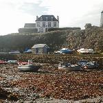 l'hôtel vu du port