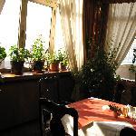 Hotel Italia DIning Room Nook