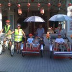 Family Bicycle and Trishaw Heritage Tour