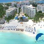Ixchel Beach Hotel - Front View
