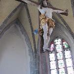 hanging crusifix