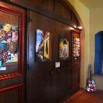 Inside Mexicolors Gallery at Fiesta Corner