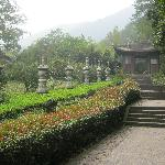Near the small temple