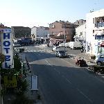 Ausblick vom Balkon - Richtung Hauptstraße