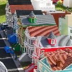 San Francisco row houses in LEGO
