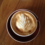 Latte from Mix. Ashland, Oregon