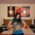 el cuarto del hotel