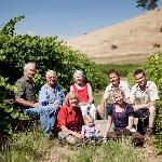 4 generations of the Fromm family in the 1919 original Shiraz plantings