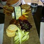 The King Island Cheese Platter WOW!