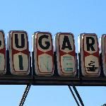 Insegna Sugar Pine Cafe