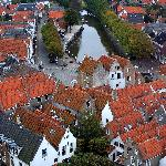 View from Goederode tower