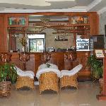the lobby bar, so much like the bar stool