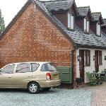 Courtyard Suites, gated car parking