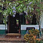 Entryway to Estancia Main House