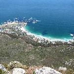 Clifton Beach from Lions Head