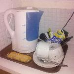in room tea service included