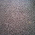 Carpet at end of bed