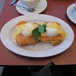 Gorgeous breakfast before it was devoured