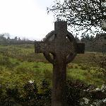 Cross overlooking the pastures