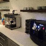 Hot drinks and Espresso machine