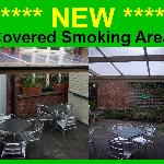 Covered Smoking Area