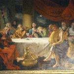 A last supper with guests