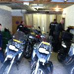 Garage for our Bikes
