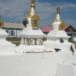Stupas at Ivolginsk Datsan