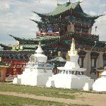 Temple and Stupas at Ivolginsk Datsan