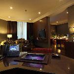 Crowne Suite Sitting Room