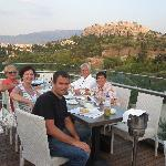 A memorable evening watching sunset over the Acropolis